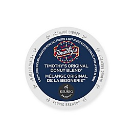 Timothy's® World Coffee Original Donut Blend Keurig® K-Cup® Pods 48-Count