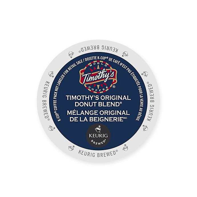 Alternate image 1 for Keurig® K-Cup® 48-Count Timothy's World Coffee Original Donut Blend