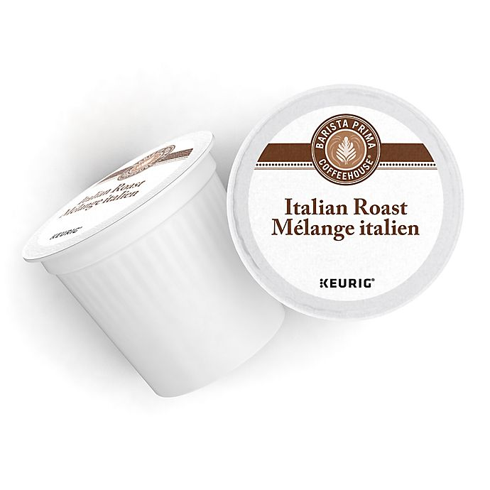 Alternate image 1 for Barista Prima® Coffeehouse® Italian Roast Coffee Keurig® K-Cup® Pods 12-Count