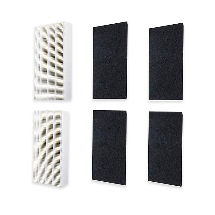 Coway 6 Piece Replacement Filter Set For Coway Ap 1216l