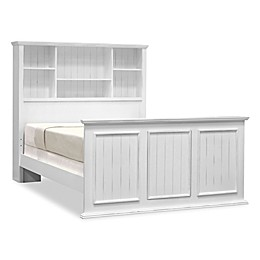John Boyd Designs Notting Hill Bookcase Bed in Bright White