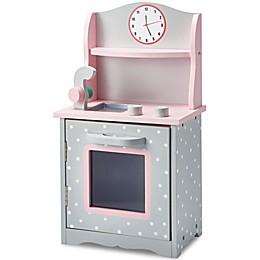 Olivia's Little World Polka Dot Doll Furniture 18-Inch Kitchen in Pink/Grey