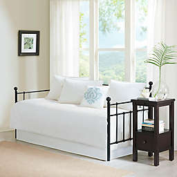 Madison Park Quebec 6-Piece Daybed Set in White