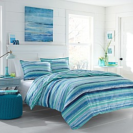 Poppy & Fritz® Alex Duvet Cover Set in Aqua