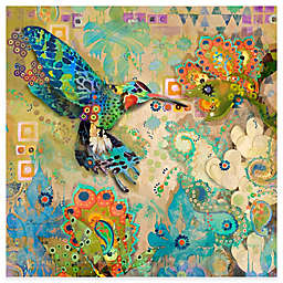 Marmont Hill Hummingbirds 24-Inch x 24-Inch Canvas Wall Art