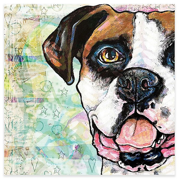 Alternate image 1 for Marmont Hill Boxer Pop Art 24-Inch x 24-Inch Canvas Wall Art