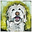 Part of the Marmont Hill Smiley Dog Canvas Wall Art
