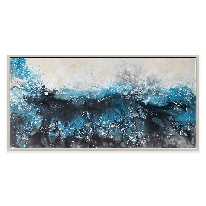 Alternate image 1 for Moe's Home Collection Deluge Framed Canvas Wall Art