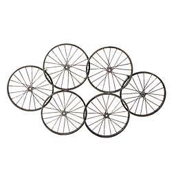Moe's Home Collection Wheels Metal Wall Art