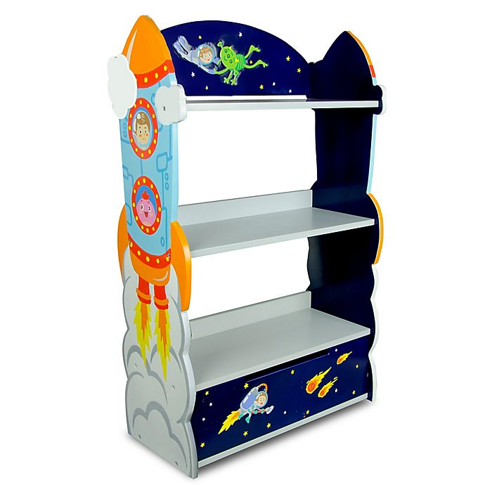 Alternate image 1 for Teamson Fantasy Fields  Outer Space Bookcase