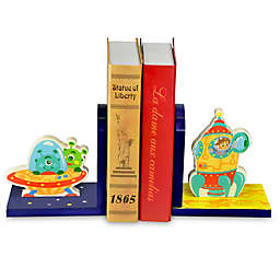 Teamson Fantasy Fields Outer Space Bookends Set