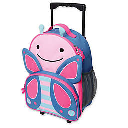 SKIP*HOP® Zoo Little Kid Rolling Luggage in Butterfly
