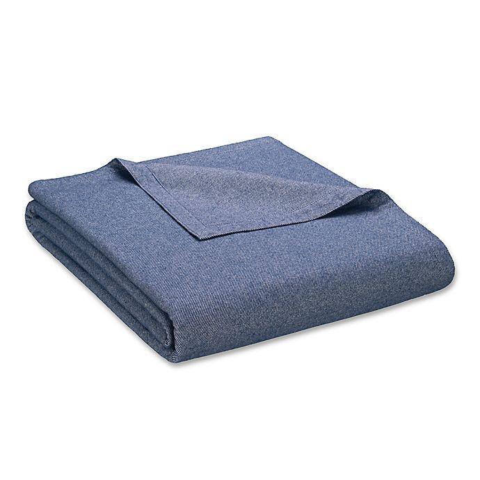 Alternate image 1 for Valeron Victoria King  Blanket in Indigo