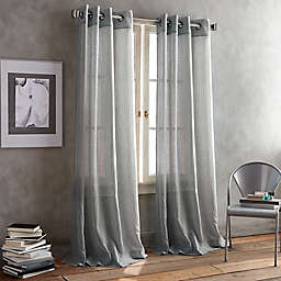 DKNY Parkside Grommet Window Curtain Panel