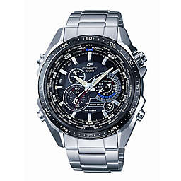 Casio Edifice Men's 45.8mm Tough Solar Chronograph Watch in Stainless Steel