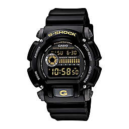 Casio G-SHOCK Men's 49mm Classic Digital Watch in Black with Black Dial and Strap