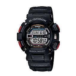 Casio G-SHOCK Men's 45mm Mudman Digital Watch in Black Resin