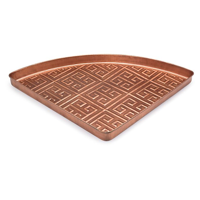 Alternate image 1 for Good Directions Athens Multi-Purpose Shoe Tray for Boots in Copper
