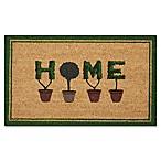 Nourison Door Decor 1'6  X 2'6  Doormat in Green