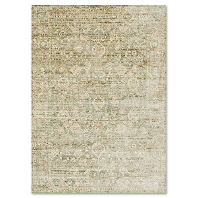 Alternate image 1 for ED Ellen DeGeneres Trousdale 2-Foot 6-Inch x 4-Foot Accent Rug in Sage