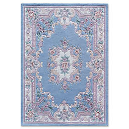 Rugs America New Aubusson Wool Rug