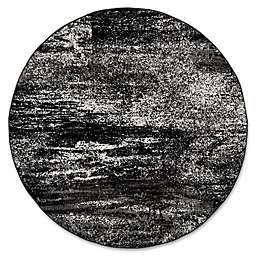 Safavieh Adirondack 9-Foot Round Area Rug in Black