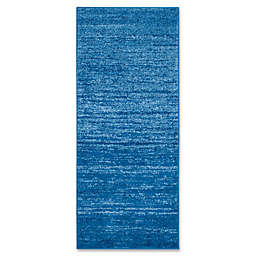 Safavieh Adirondack 2-Foot 6-Inch x 6-Foot Runner in Blue