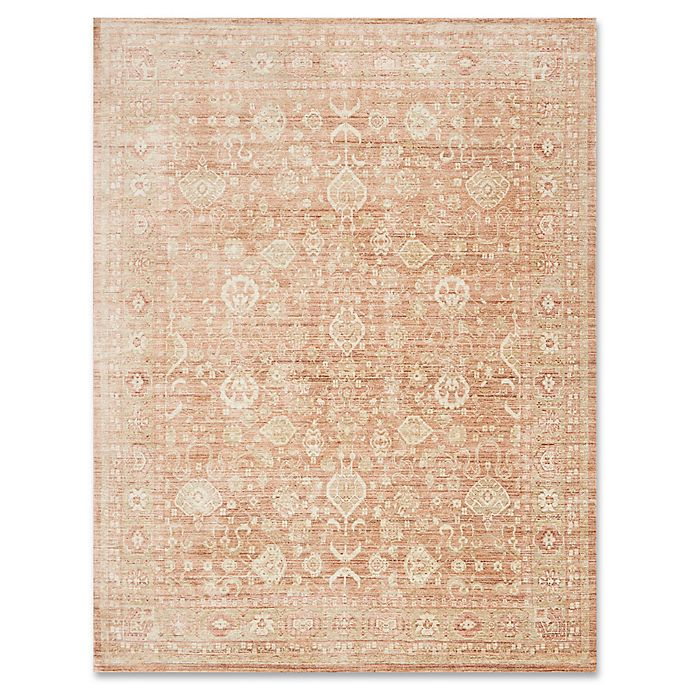 Alternate image 1 for ED Ellen DeGeneres Trousdale 12-Foot x 16-Foot Area Rug in Rust