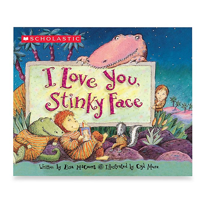 Alternate image 1 for I Love You, Stinky Face Board Book
