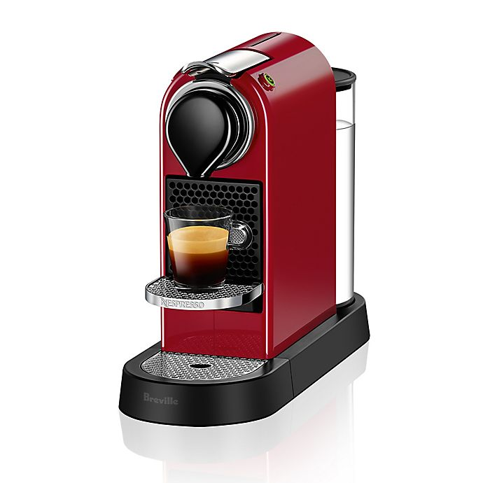 Alternate image 1 for Nespresso® by Breville CitiZ Espresso Maker in Red