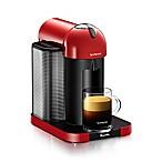 Nespresso® by Breville VertuoLine Coffee and Espresso Maker in Red