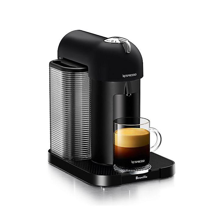 Alternate image 1 for Nespresso® by Breville VertuoLine Coffee and Espresso Maker in Black Matte