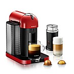Nespresso® by Breville® VertuoLine Coffee and Espresso Maker Bundle in Red