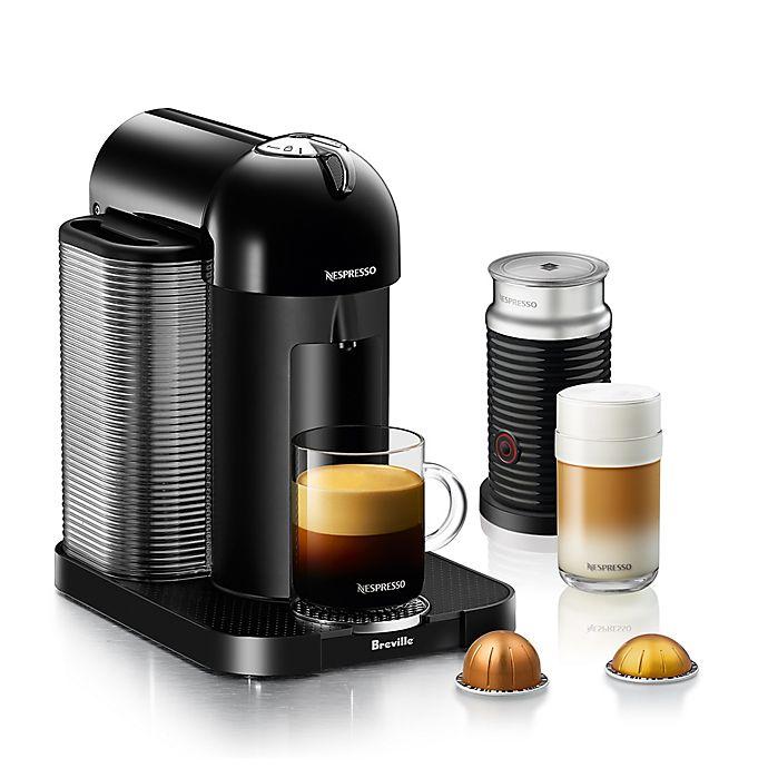 Alternate image 1 for Nespresso® by Breville® VertuoLine Coffee and Espresso Maker Bundle in Black