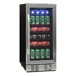 NewAir® Beverage Refrigerator Built In 96 Can Cooler in Stainless Steel