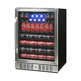 NewAir® Beverage Refrigerator Built In 177 Can Cooler in Stainless Steel