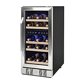 NewAir® Wine Refrigerator Built In 29 Bottle in Stainless Steel