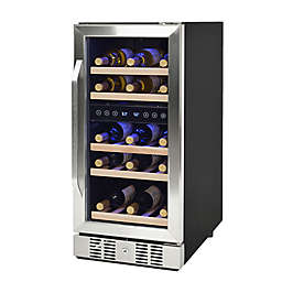 Newair® Compact 29 Bottle Dual-Zone Compressor Wine Cooler