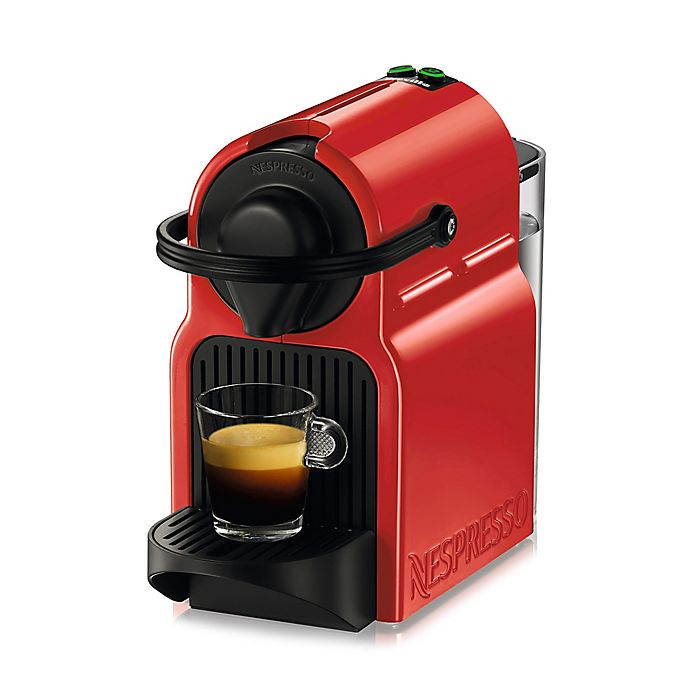 Alternate image 1 for Nespresso® by Breville Inissia Espresso Maker in Red