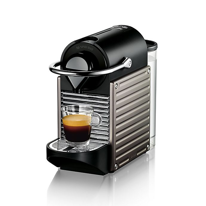 Alternate image 1 for Nespresso® by Breville Pixie® Espresso Maker in Titanium