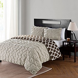VCNY Home Scottsdale 2-Piece Reversible Twin XL Duvet Cover Set