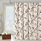 Meridian Shower Curtain in Taupe