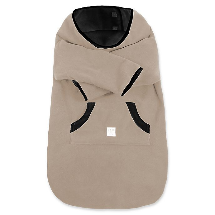 Alternate image 1 for 7 A.M.® Enfant Small Fleece Easy Cover in Taupe