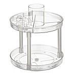 iDesign® Vanity Organizer™ Rain 2-Tier Spinner