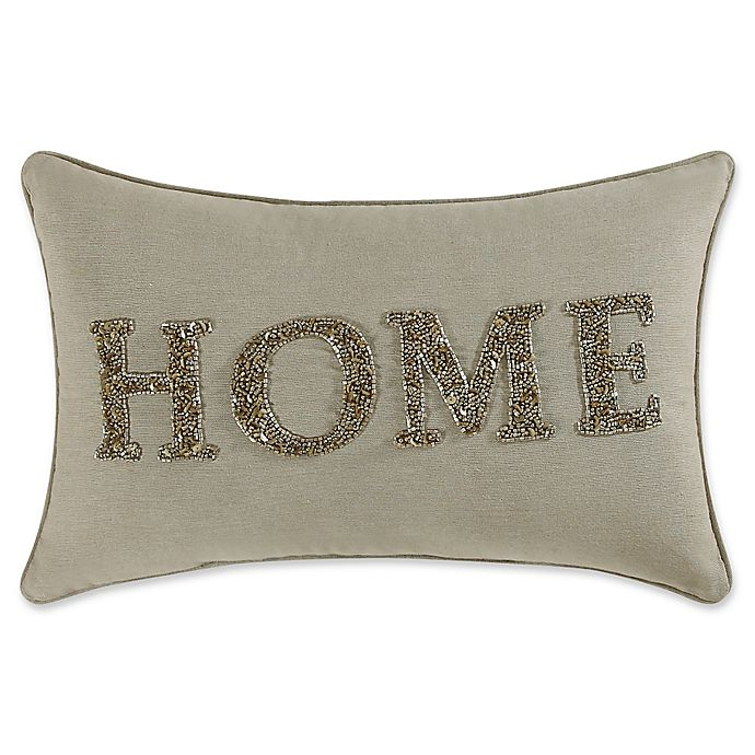 Coastal Living 174 Home Oblong Throw Pillow In Gold Bed