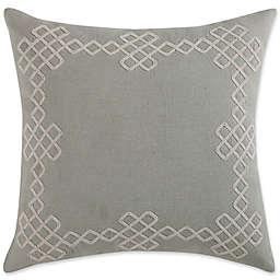 Coastal Living® Geo Frame Square Pillow in Mushroom