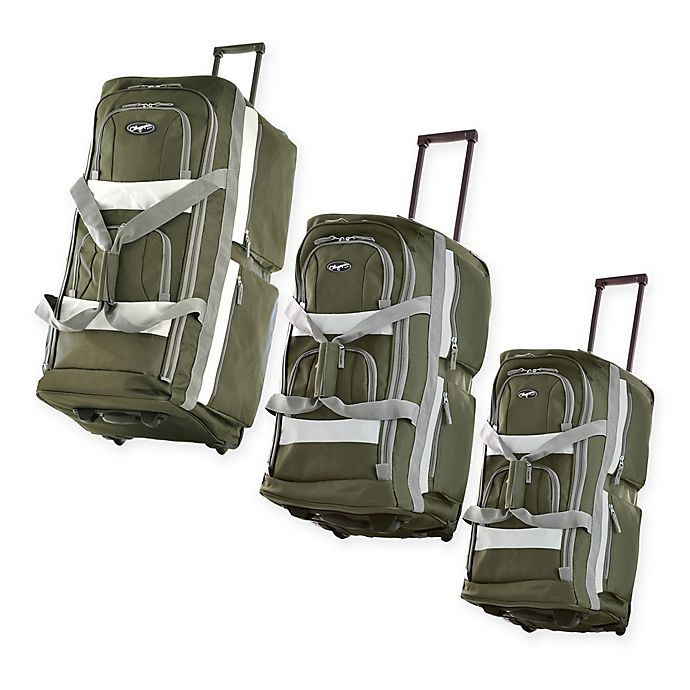 Alternate image 1 for Olympia® USA 8-Pocket Rolling Duffle