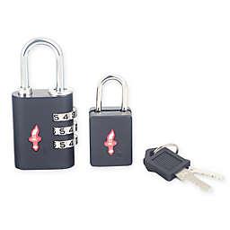 Safe Skies® 2-Piece TSA-Recognized Luggage Lock Set