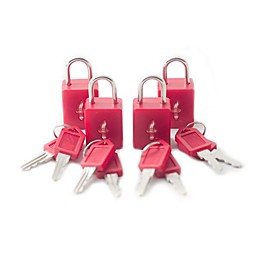 Safe Skies® 4-Pack TSA-Recognized Padlocks