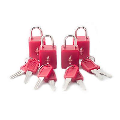Safe Skies® 4-Pack TSA-Recognized Padlocks